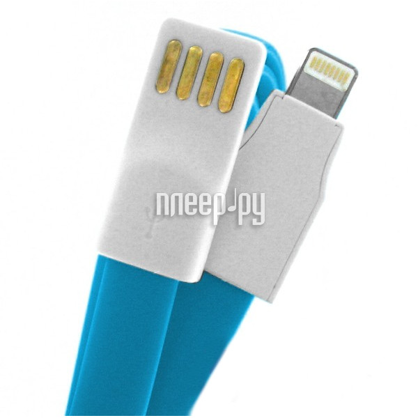 Аксессуар Krutoff USB - Lightning для iPhone 5 / 5C / 5S 1m Light Blue 14137