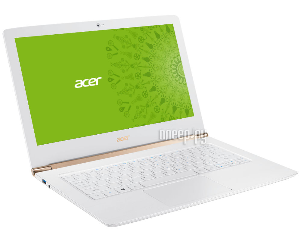 Ноутбук Acer Aspire S5-371-30PU NX.GCJER.005 (Intel Core i3-6100U 2.3 GHz / 8192Mb / 128Gb SSD / No ODD / Intel HD Graphics / Wi-Fi / Bluetooth / Cam / 13.3 / 1920x1080 / Linux) за 51285 рублей