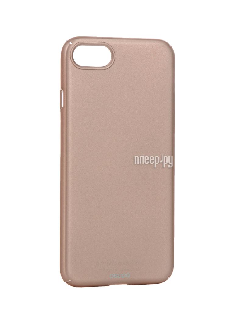 Аксессуар Чехол Deppa Air Case для APPLE iPhone 7 Pink Gold 83271 купить