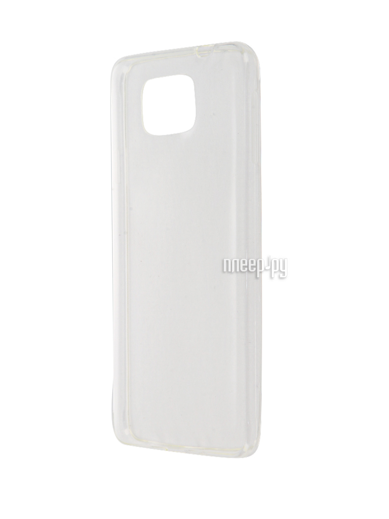Аксессуар Чехол Samsung Galaxy Alpha SM-G850 Krutoff Transparent 11509