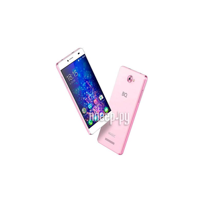 Сотовый телефон BQ BQS-5070 Magic LTE Pink