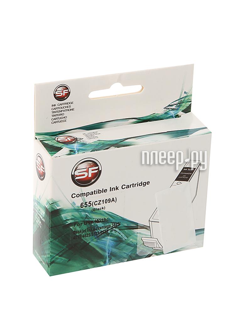 Картридж SuperFine SF-CZ109AE для HP Deskjet IA 3525/5525/4615/4625 22ml Black