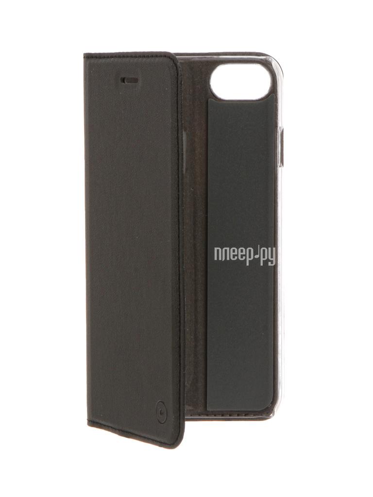 Аксессуар Чехол Muvit Folio Stand для APPLE iPhone 7 Black MUFLS0045