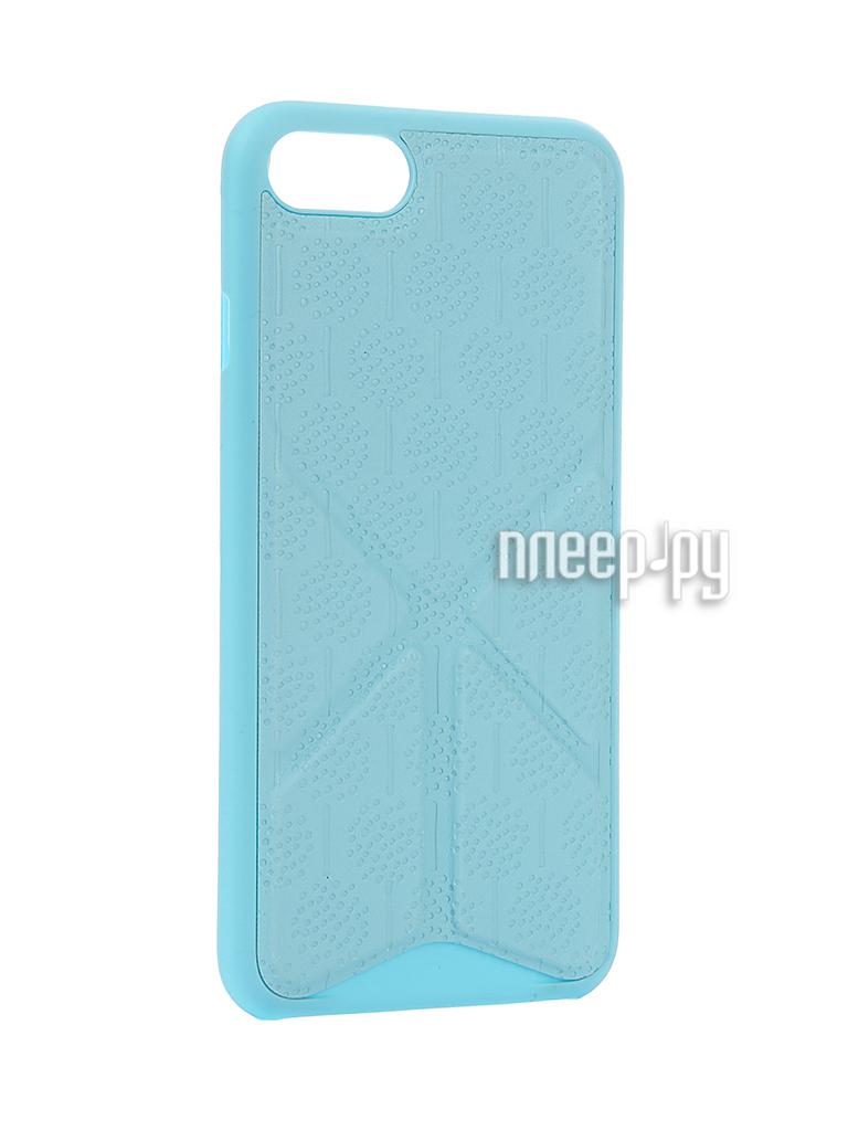 Аксессуар Чехол Ozaki O!Coat 0.3 + Totem Versatile для APPLE iPhone 7 Blue
