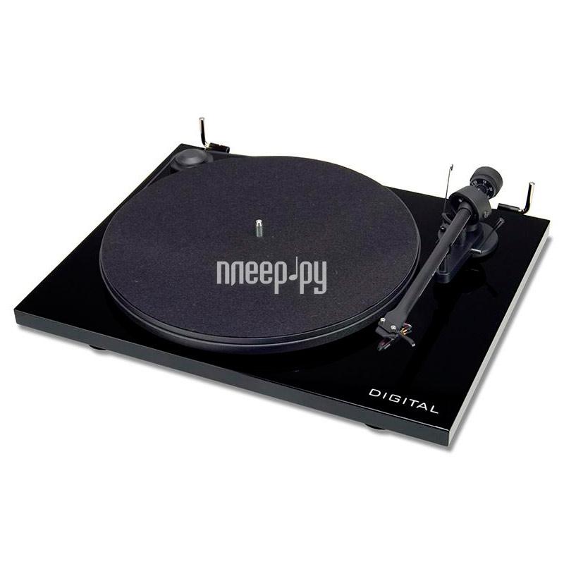 Проигрыватель виниловых дисков Pro-Ject Essential II Digital Piano Black