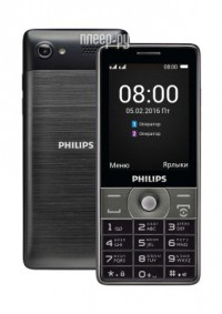 Сотовый телефон Philips E570 Xenium Dark Gray