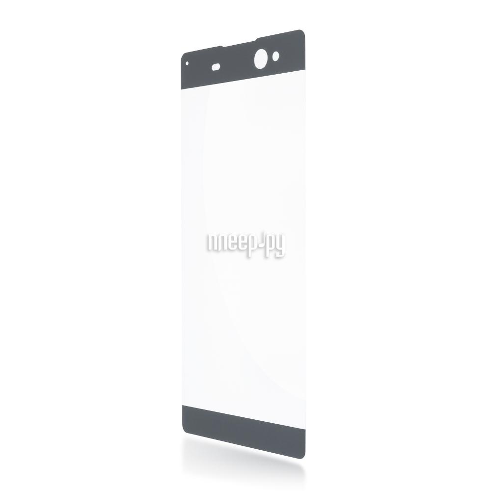 Аксессуар Защитное стекло Sony Xperia XA Ultra BROSCO 0.3mm Grey XAU-3D-GLASS-GREY