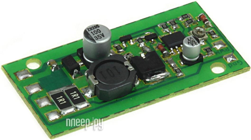 Конструктор Драйвер светодиода Радио КИТ RP255LED + светодиод