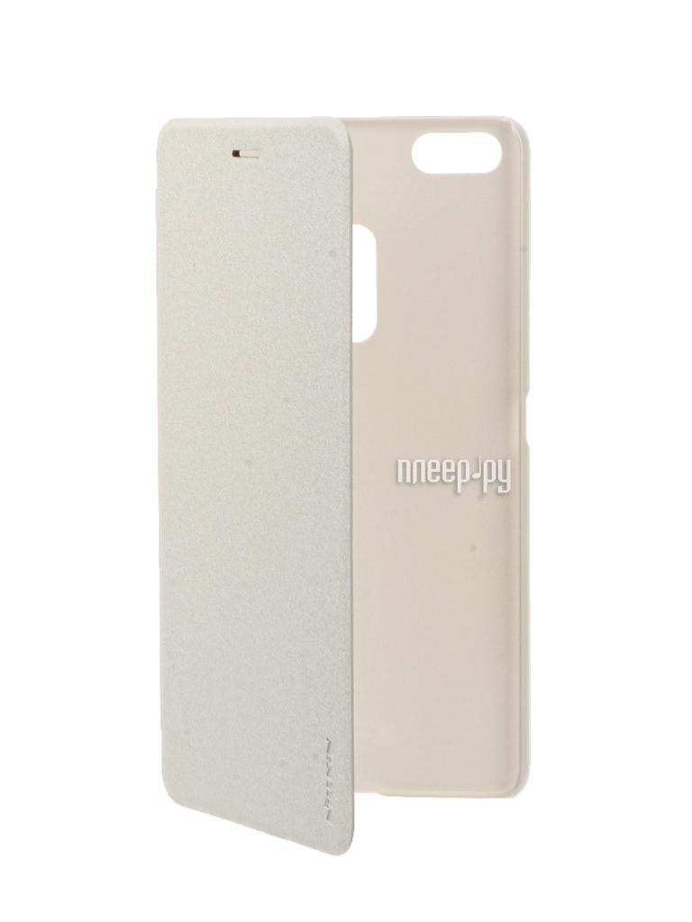 Аксессуар Чехол ASUS ZenFone 3 Ultra ZU680KL Nillkin Sparkle White 12298