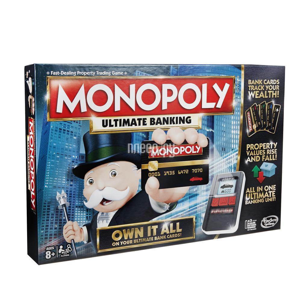 Настольная игра Hasbro Games Монополия B6677
