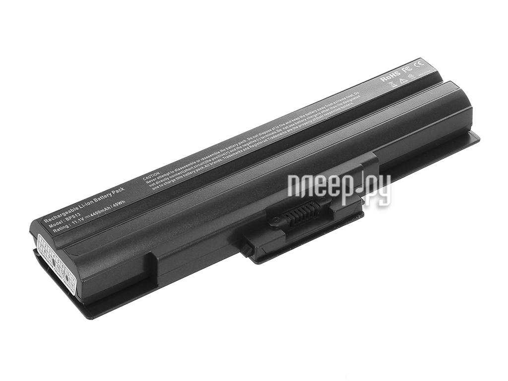 Аккумулятор Tempo BPS21-NOCD 11.1V 4400mAh для Sony Vaio VGN-AW/VGN-CS/VGN-FW/VGN-NS/VGN-NW/VGN-SR/VPCCW/VPCF/VPCY/VPCM Series