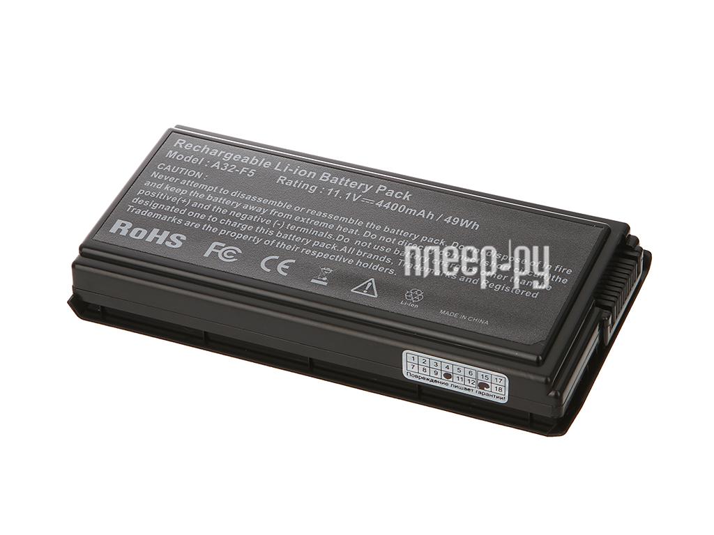 Аккумулятор Tempo F5 11.1V 4400mAh для ASUS F5M/F5N/F5Sr/F5Z/F5RI/F5SL/F5VI/F5VL/X5/X50C/X50M/X50N/X50RL/X50SL/X50VL Series