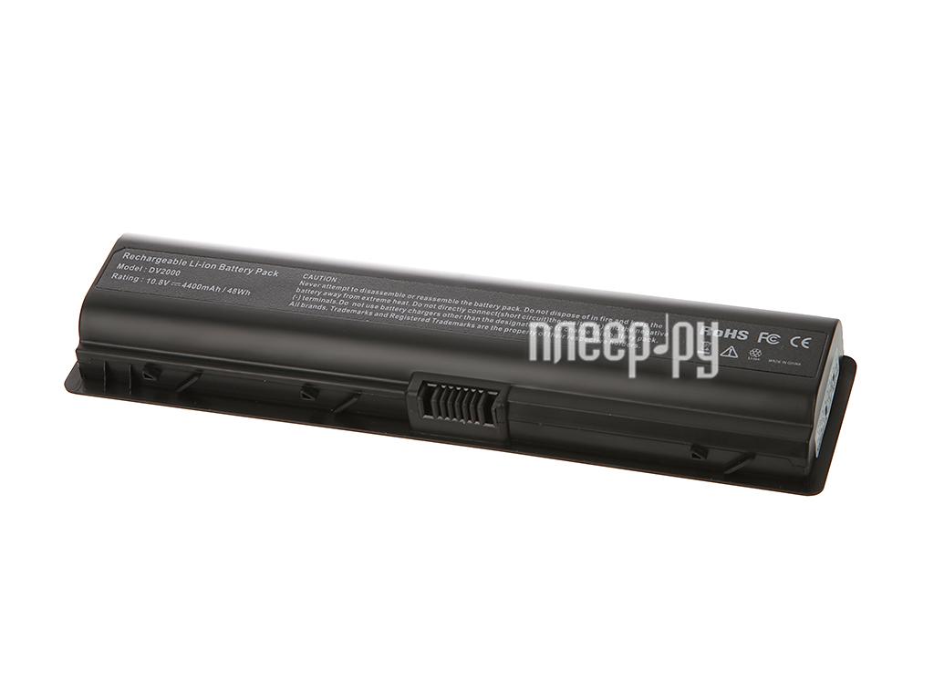 Аккумулятор Tempo DV2000 10.8V 4400mAh для HP Pavilion Dv2000 / Dv6000 / G7000 / Presario V3000 / V6000