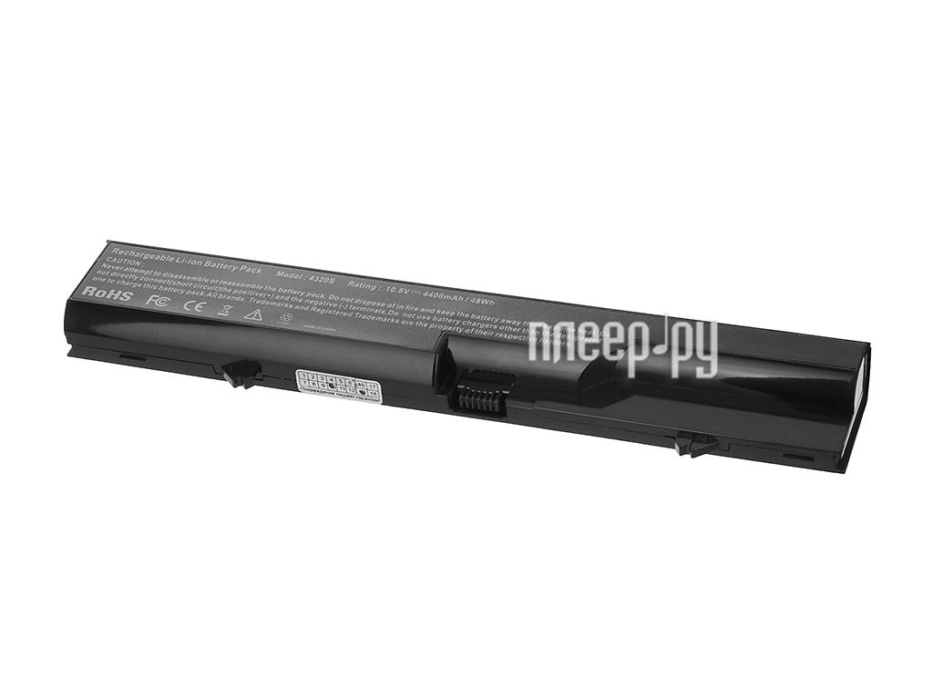 Аккумулятор Tempo HP4320 10.8V 4400mAh для HP 425/4320t/625 ProBook 4320s/4320t/4321s/Compaq 320/321/325/326/420/421/425/620/621/625