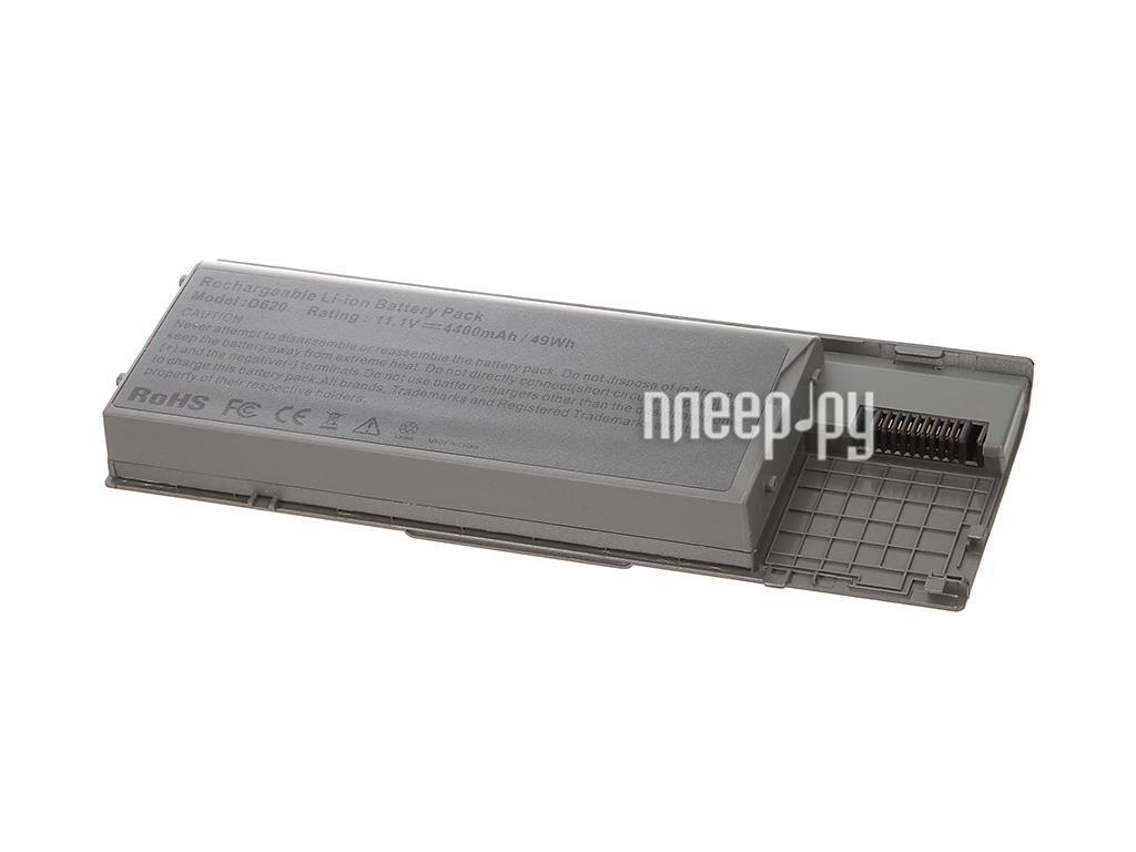 Аккумулятор Tempo D620 11.1V 4400mAh для DELL Latitude D620/D630/Precision M2300 Series