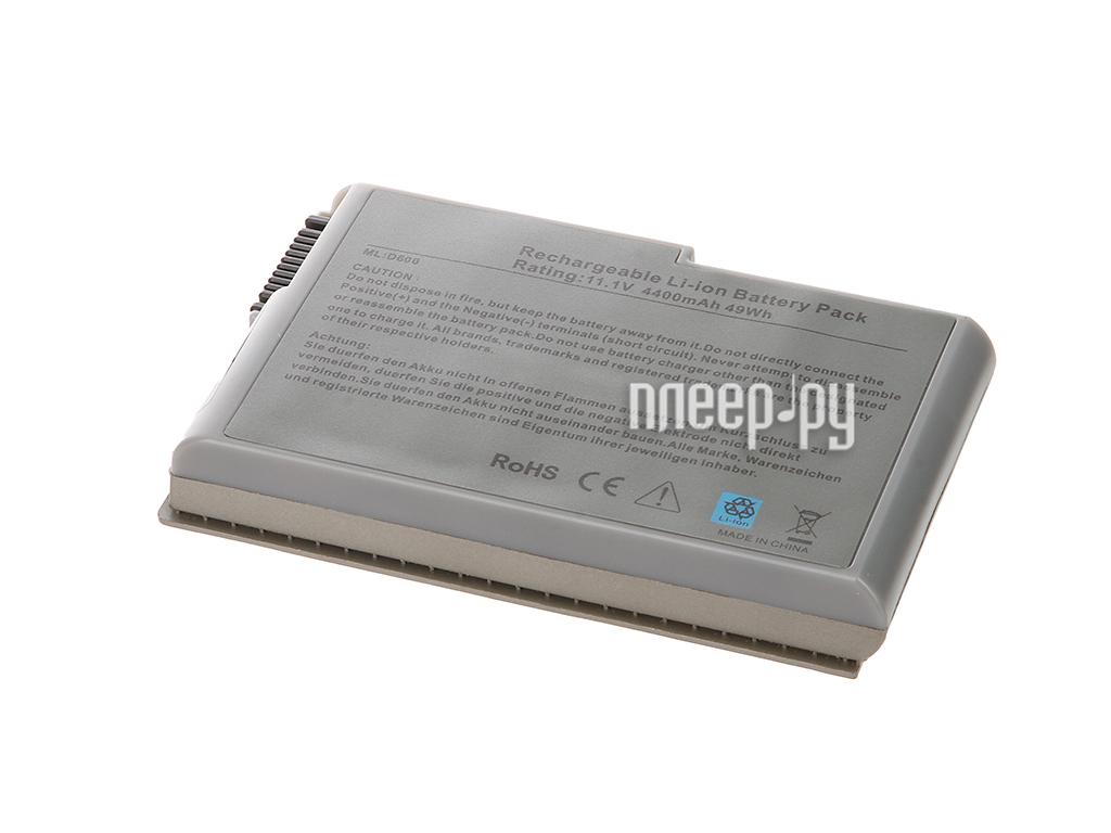 Аккумулятор Tempo D500 11.1V 4400mAh для DELL Inspiron 500m/510m/Latitude D500/D505/D510/D520/D600/D610/Precision M20 Series