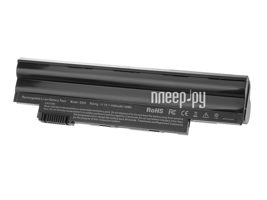 Аккумулятор Tempo D522 11.1V 4400mAh для Acer Aspire One D255/D260/522/722/Happy/Happy2/Gateway LT25 Series