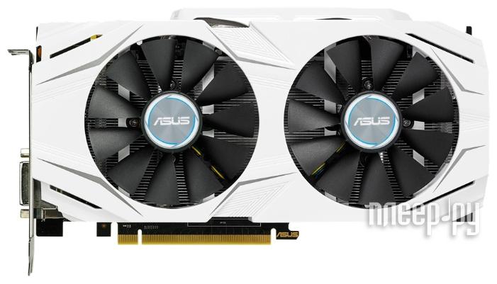 Видеокарта ASUS GeForce GTX 1070 1582Mhz PCI-E 3.0 8192Mb 8008Mhz 256 bit DVI 2xHDMI HDCP DUAL-GTX1070-O8G