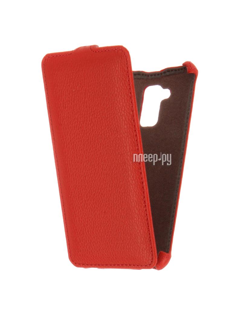 Аксессуар Чехол ASUS ZenFone 3 MAX ZC520TL Zibelino Classico Red ZCL-ASU-ZC520TL-RED