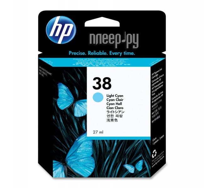 Картридж HP 38 C9418A Light Cyan купить