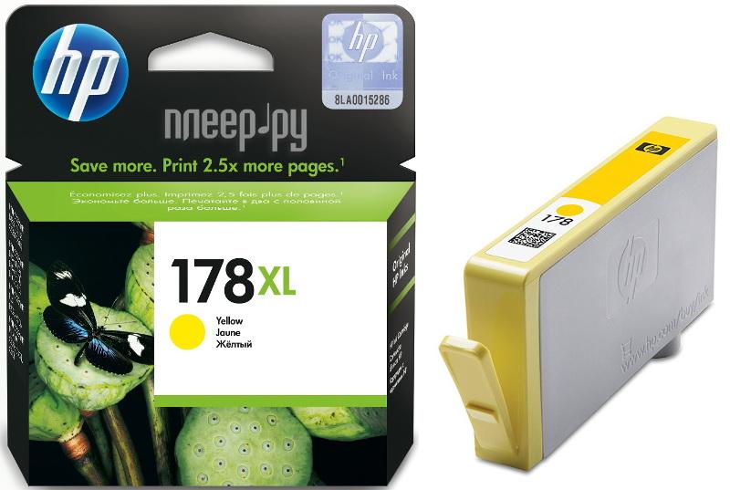 Картридж HP 178XL CB325HE Yellow за 1195