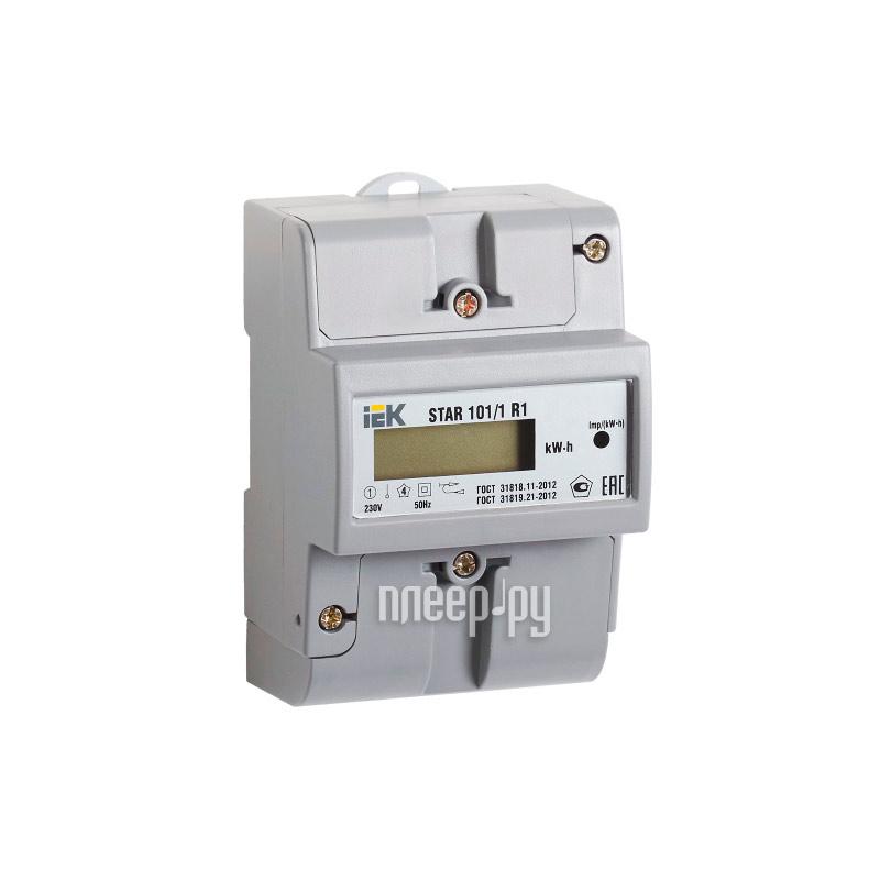 Счетчик электроэнергии IEK STAR 101 / 1 R1-5(60)Э Ш2 CCE-1R1-1-02-2