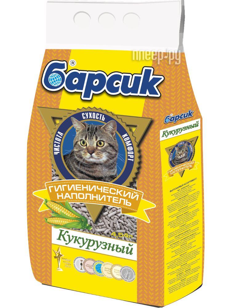 Наполнитель Барсик Кукурузный 4.54л 92070