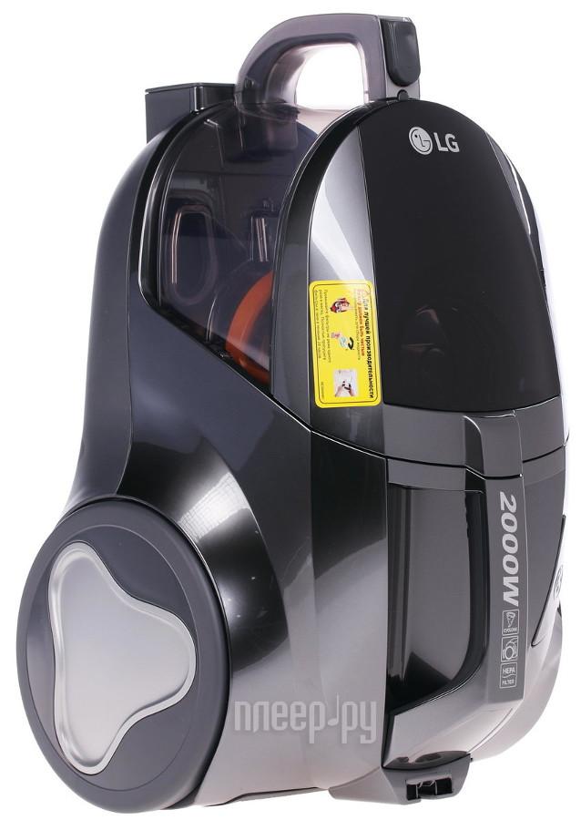 Пылесос LG VK75W01H Grey