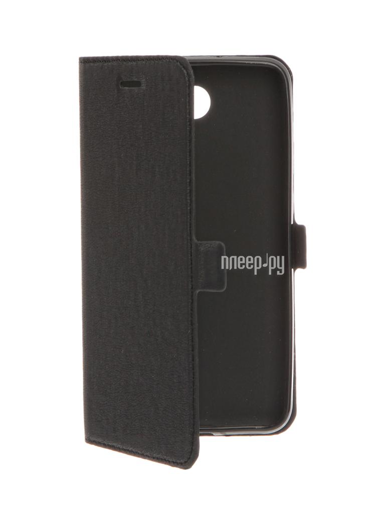 Аксессуар Чехол Huawei Honor 5A DF hwFlip-05 Black