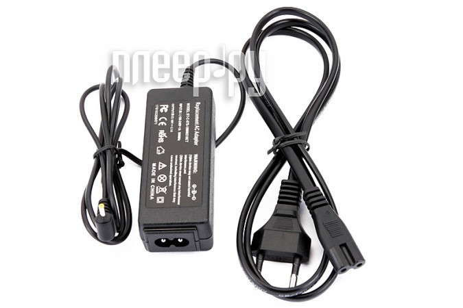 Блок питания Palmexx ASUS 19V 2.1A PA-014 Black для EeePC 1001/1005/1008/1015/1018/1101/1201/1215/Lamborghini VX6/3Q Netbook Qoo!/3QLAP
