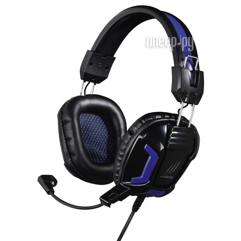 Гарнитура Hama uRage SoundZ Essential Black H-113744