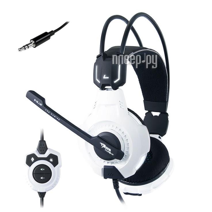Гарнитура E-Blue Mazer Type-X EHS015WH White