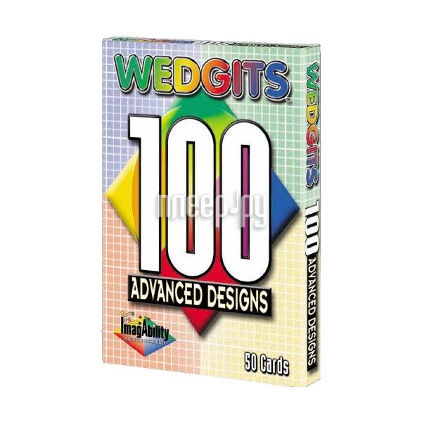 Конструктор Wedgits Advanced Design Cards для Imagination Set, Starter Set и Deluxe 300033