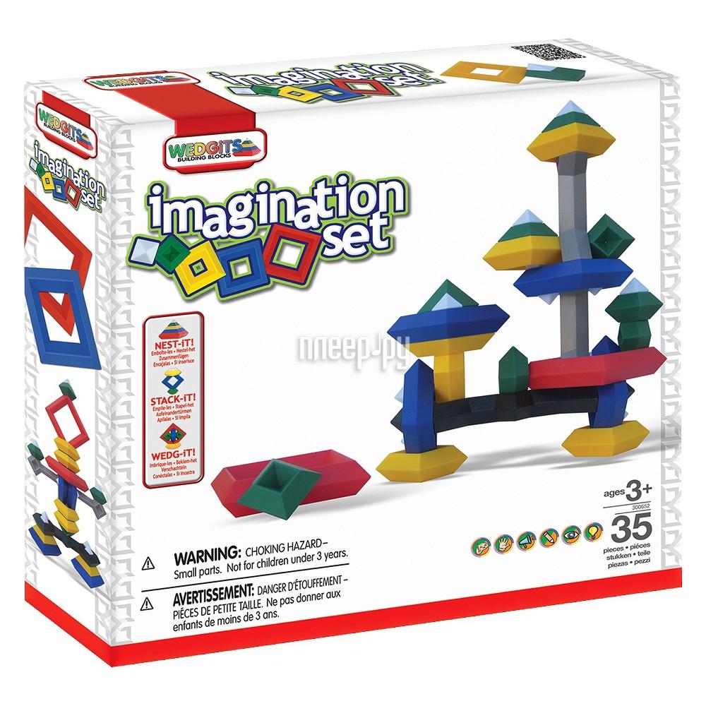 Конструктор Wedgits Imagination Set 35 дет. 300652