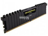 Модуль памяти Corsair Vengeance LPX DDR4 DIMM 2400MHz PC4-19200 CL16 - 8Gb CMK8GX4M1A2400C16