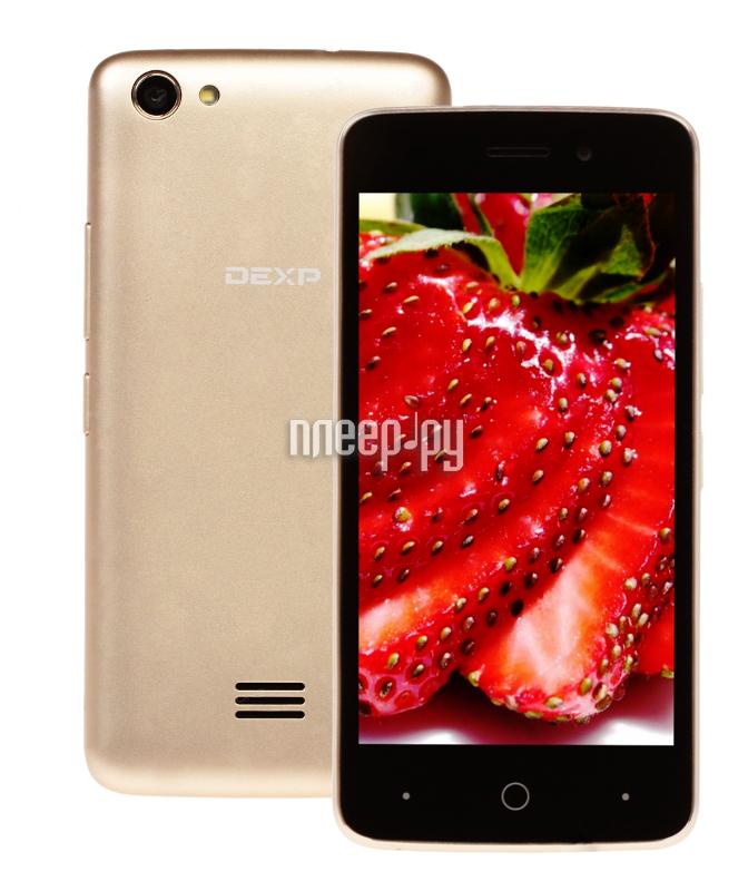 Сотовый телефон DEXP Ixion X245 Rock Mini Gold