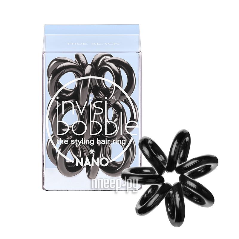 Резинка для волос Invisibobble Nano True Black 3 штуки