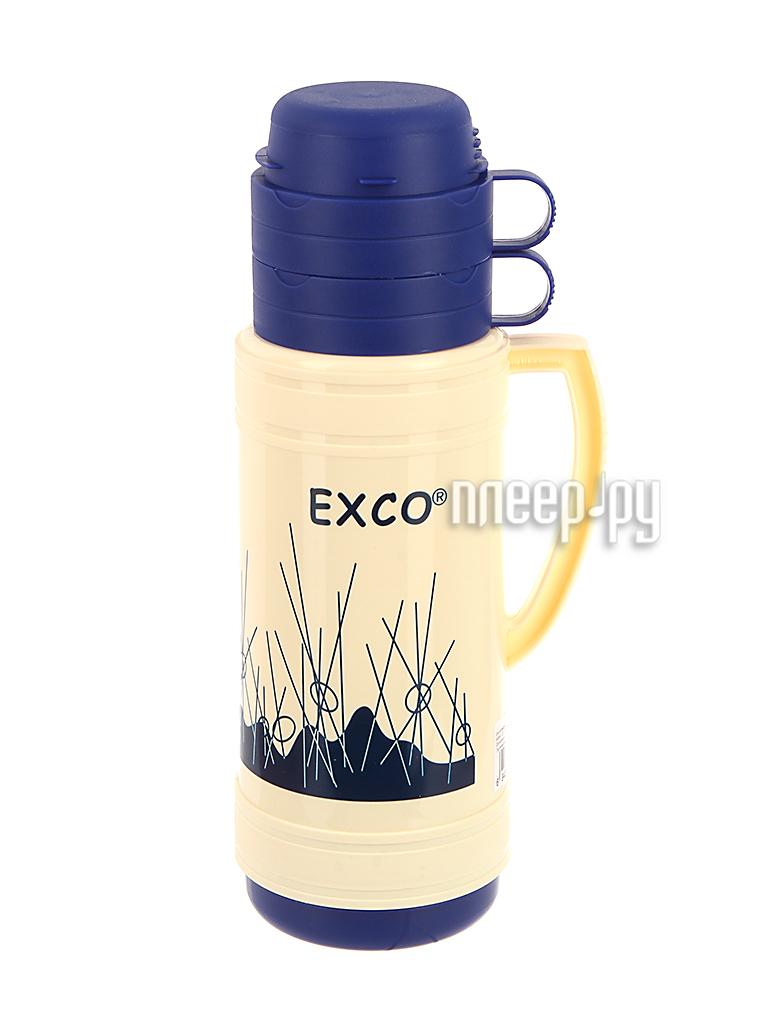 Термос EXCO EN100 1L Beige-Blue купить