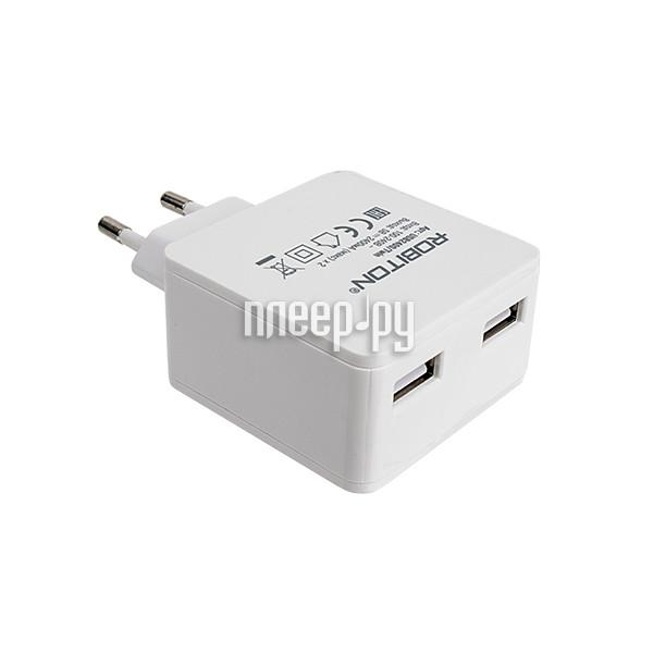Зарядное устройство Robiton USB2400/Twin 4800mAh 2xUSB