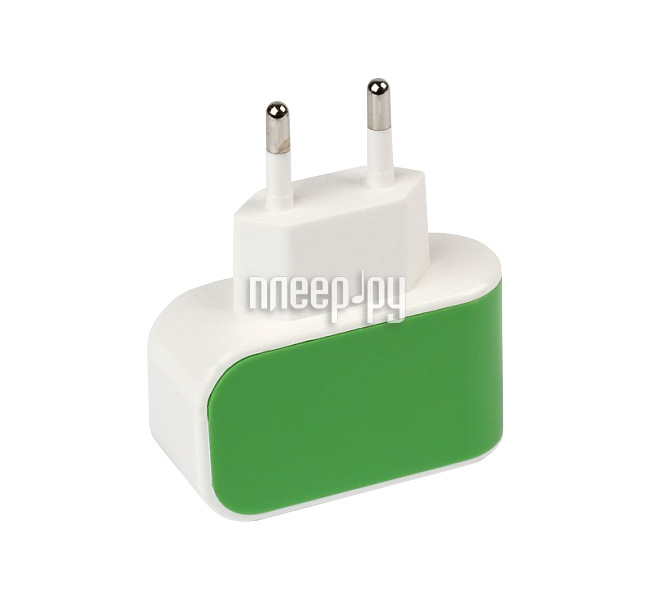 Зарядное устройство SmartBuy Color Charge Combo USB Green SBP-8015