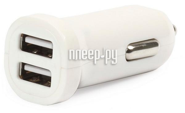 Зарядное устройство SmartBuy Car Craft 2.1А 2xUSB универсальное White SBP-8300