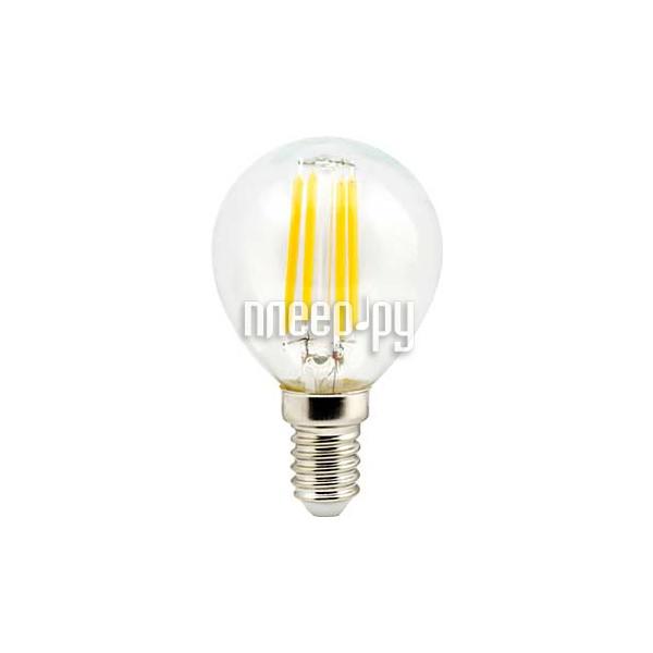 Лампочка Ecola Globe LED E14 5W G45 220V 4000K N4GV50ELC