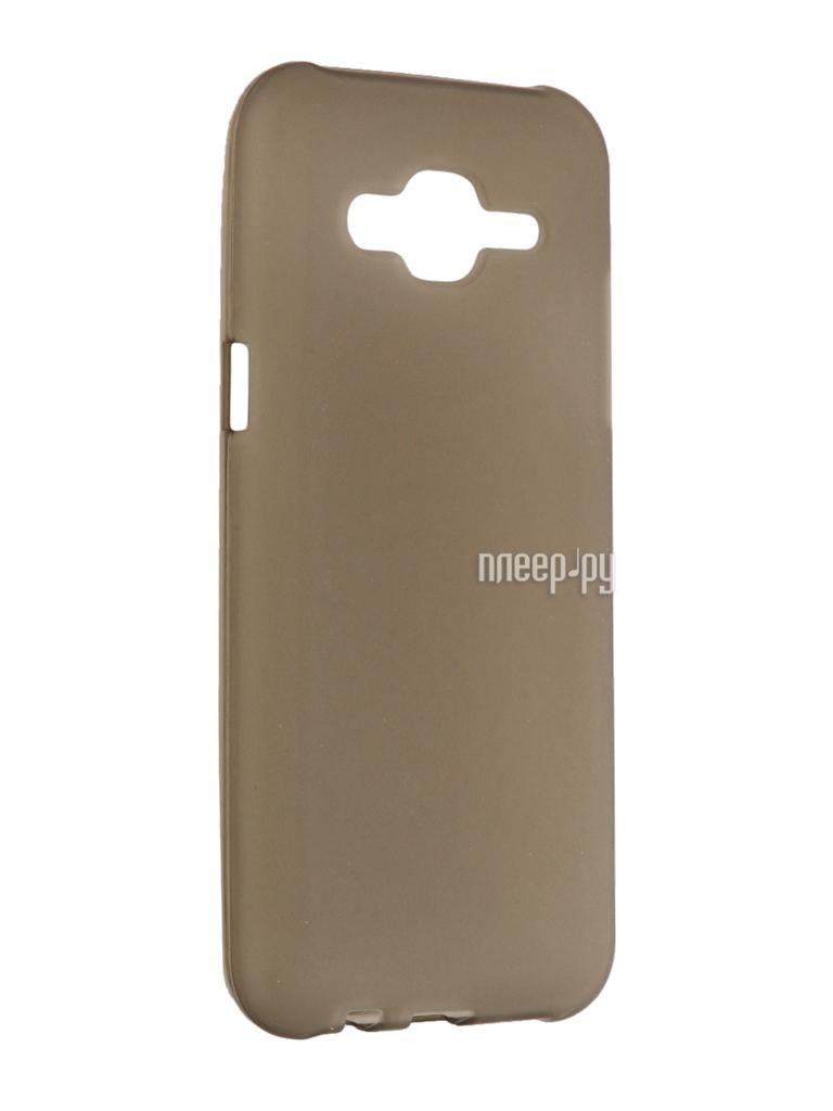 Аксессуар Чехол Samsung Galaxy J5 2016 Cojess Silicone 0.3mm Grey