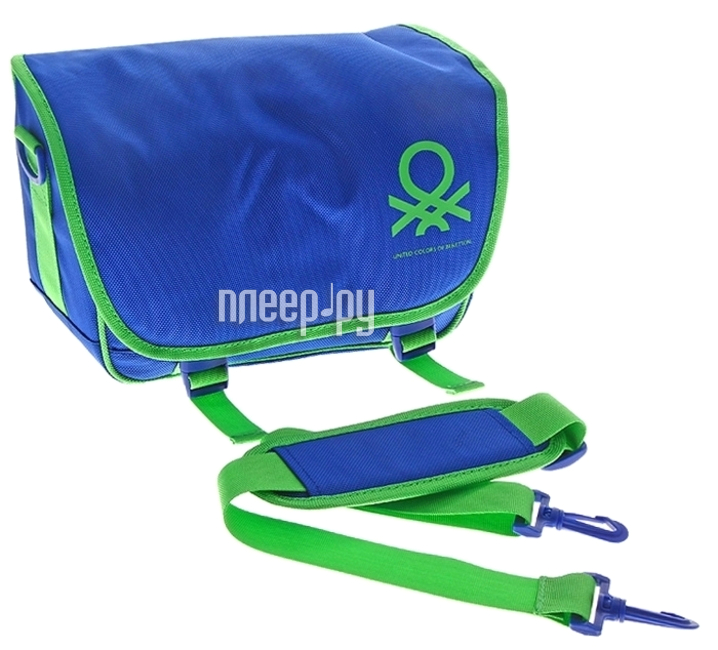 Сумка Benetton Messenger S Digital Blue