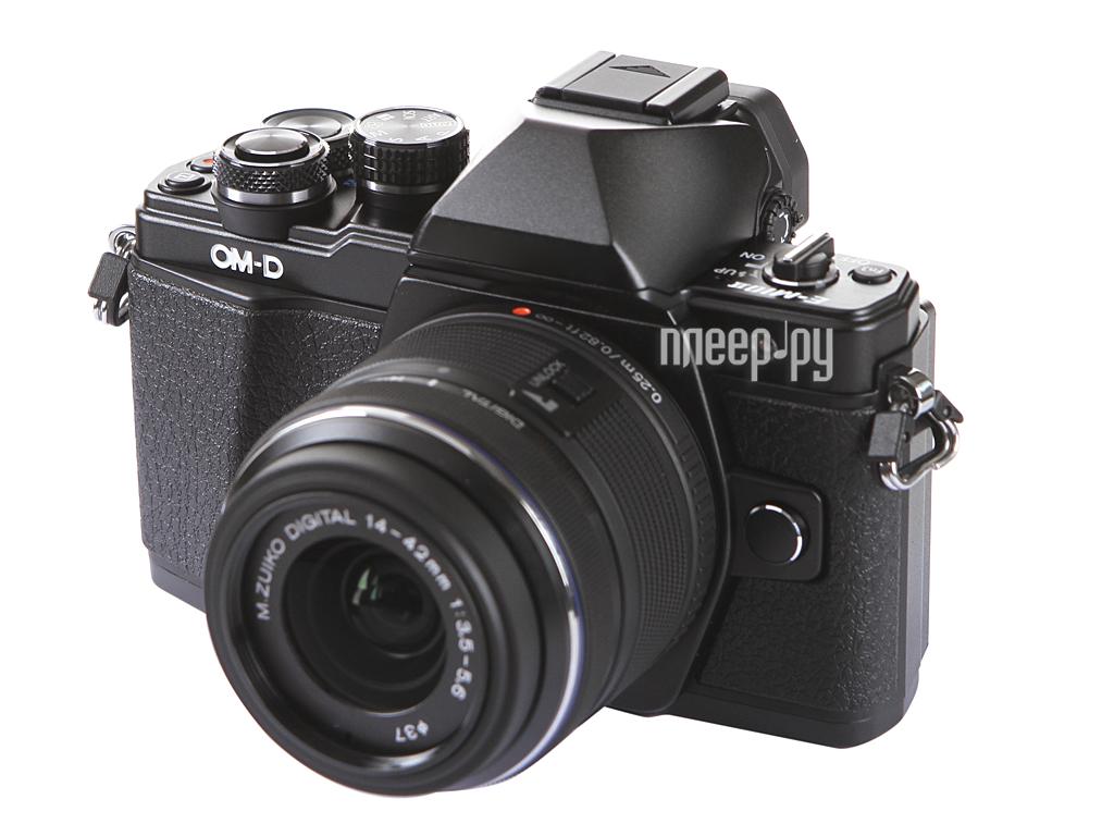 Фотоаппарат Olympus OM-D E-M10 Mark II Kit 14-42 mm F/3.5-5.6 II R Black-Black