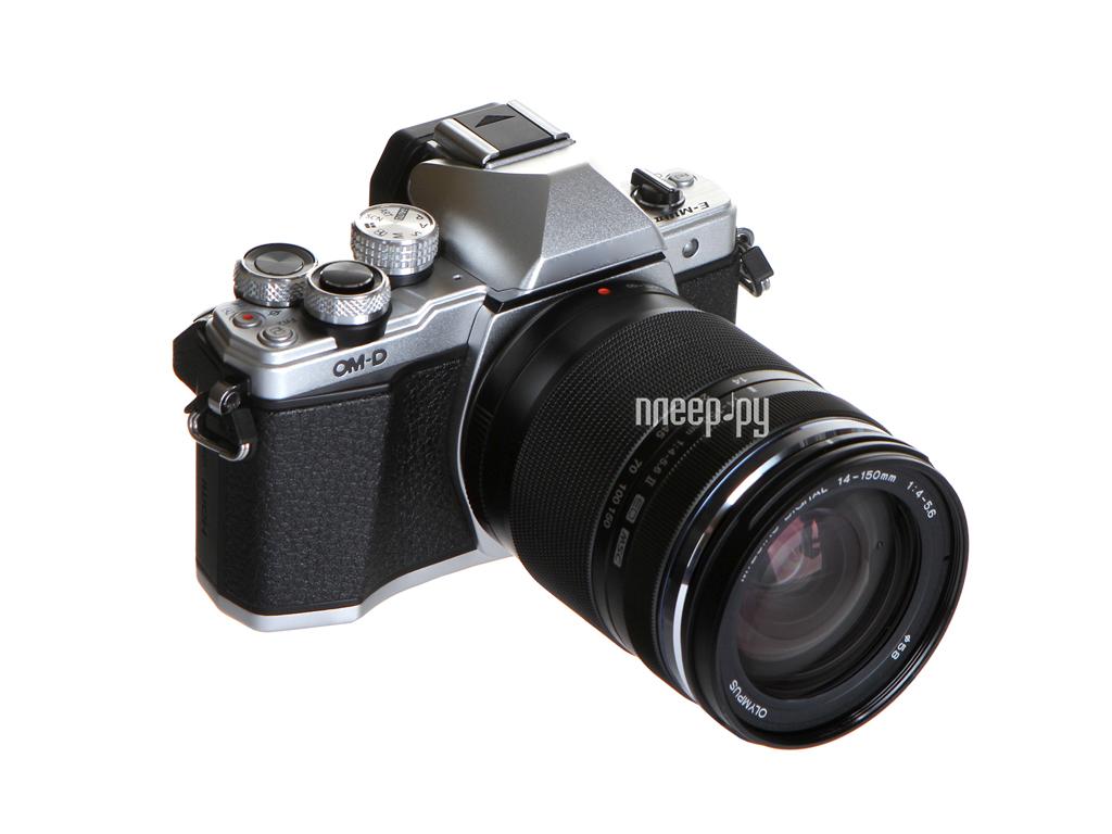 Фотоаппарат Olympus OM-D E-M10 Mark II Kit 14-150 mm F / 4-5.6 II Silver-Black