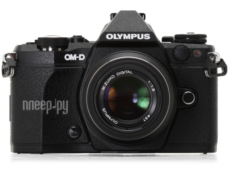 Фотоаппарат Olympus OM-D E-M5 Mark II Kit 14-42 mm EZ Black-Black