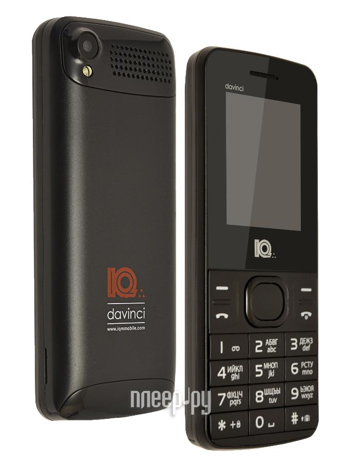 Сотовый телефон IQm Davinci Black