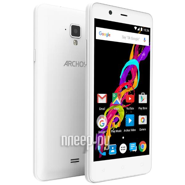 Сотовый телефон Archos 50 Titanium 4G White