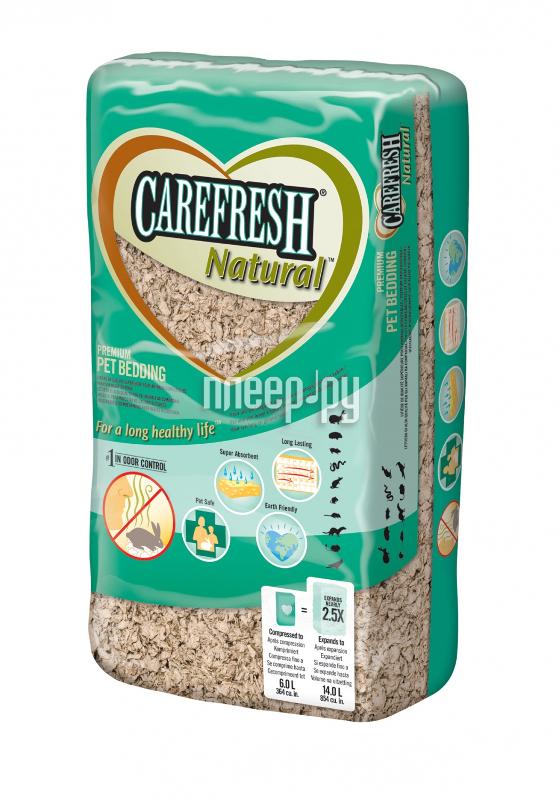 Наполнитель CareFresh Natural 14L 35798